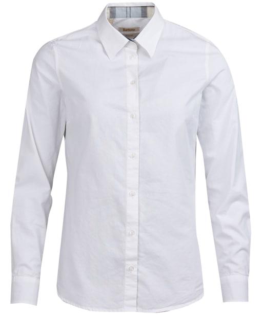 Women's Barbour Portsdown Shirt - White