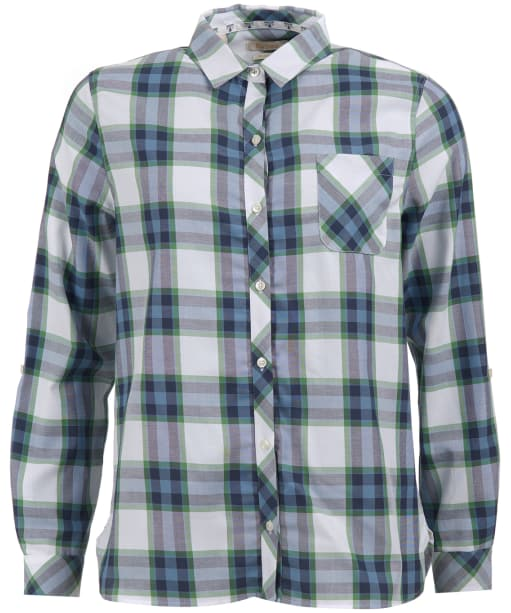 Women's Barbour Littlehampton Shirt - Navy / Clover