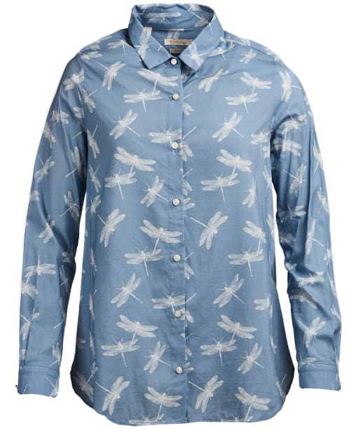 Women's Barbour Bowfell Shirt - Blue Heaven