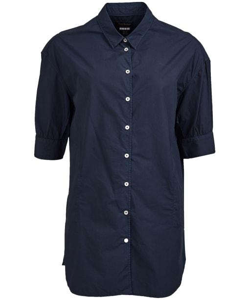 Women's Barbour Allanton Shirt - Navy