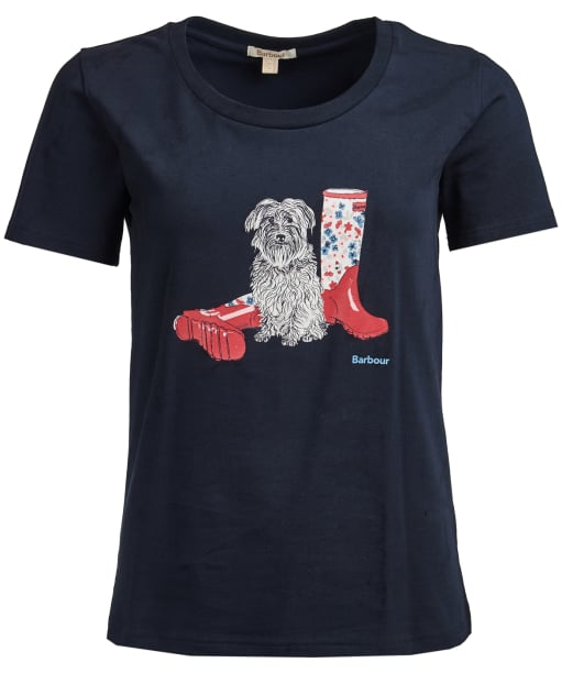 Women's Barbour Brambling Tee - Navy