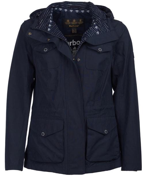 Women's Barbour Appin Waterproof Jacket - Navy