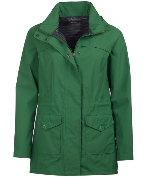 Women's Barbour Dalgetty Waterproof Jacket - Clover