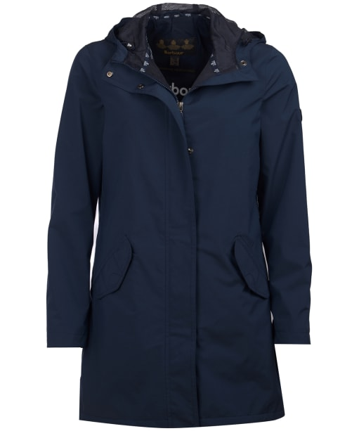 Women's Barbour Seaglow Waterproof Jacket - Navy