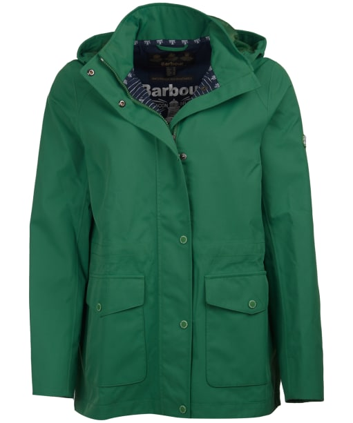 Women's Barbour Backshore Waterproof Jacket - Clover