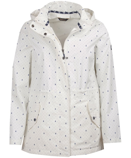 Women's Barbour Windbreaker Waterproof Jacket - Cloud Navy