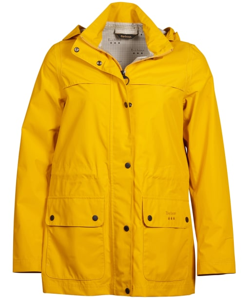 Women's Barbour Drizzel Waterproof Jacket - Canary Yellow