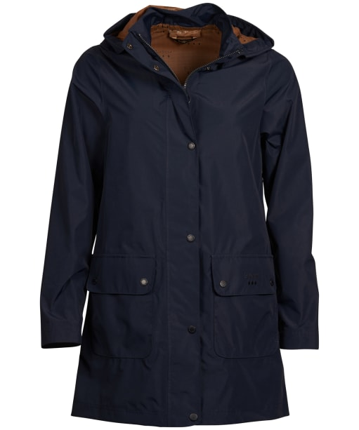 Women's Barbour Inclement Waterproof Jacket - Navy