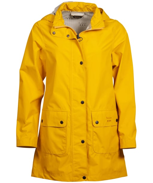 Women's Barbour Inclement Waterproof Jacket - Canary Yellow