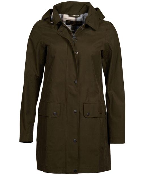 Women's Barbour Undertow Waterproof Jacket - Olive