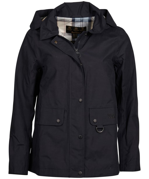 Women's Barbour Tramontane Waterproof Jacket - Navy