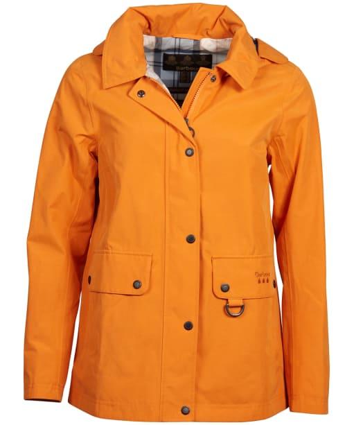 Women's Barbour Tramontane Waterproof Jacket - Marigold
