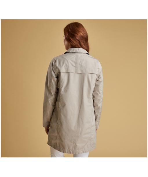 Women's Barbour x Sam Heughan Babbity Waterproof Jacket - Mist