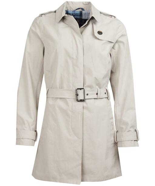 Women's Barbour Quarry Waterproof Trench Jacket - Mist