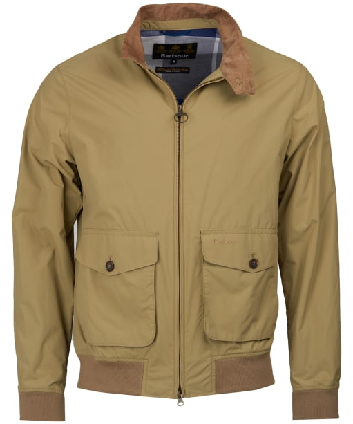 Men's Barbour Maree Casual Jacket - Light Sand