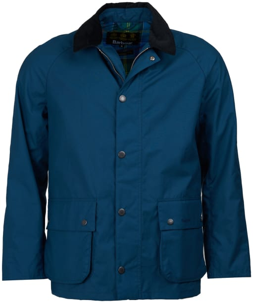 Men's Barbour Awe Casual Jacket - Peacock Blue