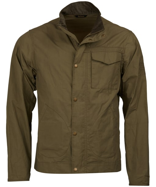 Men's Barbour Steve McQueen Major Casual Jacket - Dusky Green