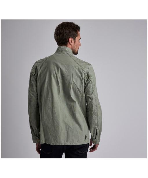Men's Barbour International Tees Ripstop Casual Jacket - Military Green