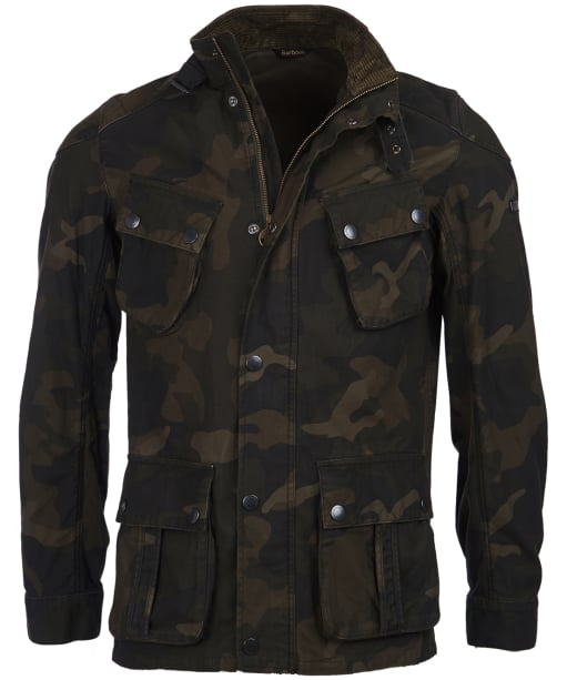 Men's Barbour International Washed Camo Jacket - Camo