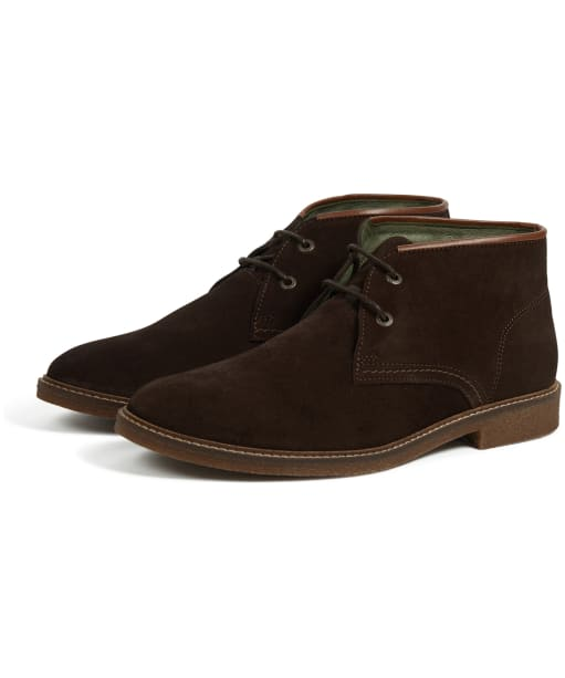 Men's Barbour Kalahari Desert Boots - Chocolate Suede