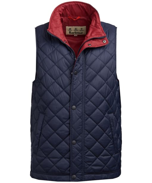 Men's Barbour Ampleforth Quilted Gilet - Navy