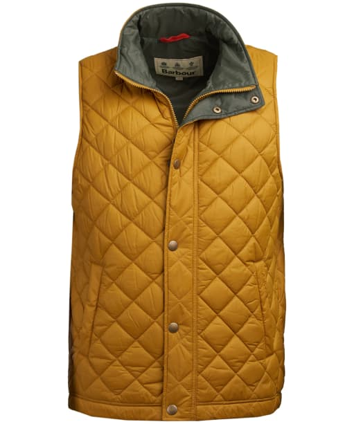 Men's Barbour Ampleforth Quilted Gilet - Lunar Yellow