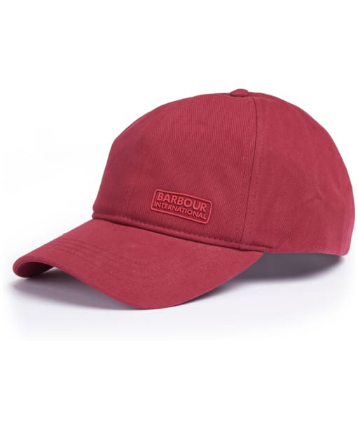 Barbour International Norton Drill Cap - Biking Red