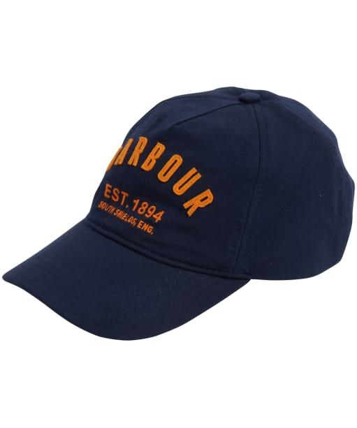 Men's Barbour Prep Logo Sports Cap - Navy