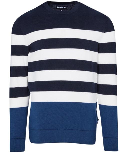Men's Barbour Copinsay Crew Neck Sweater - Navy