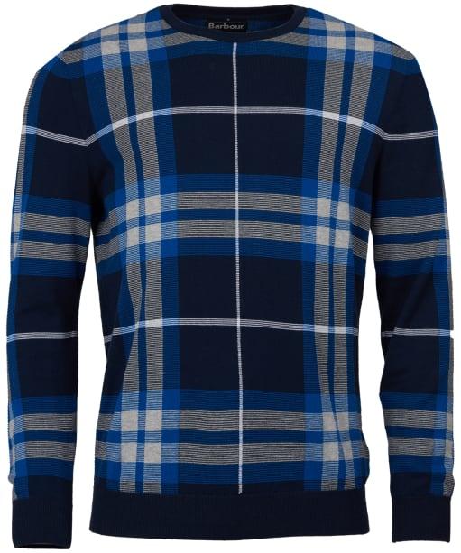 Men's Barbour Newark Crew Sweater - Midnight Blue
