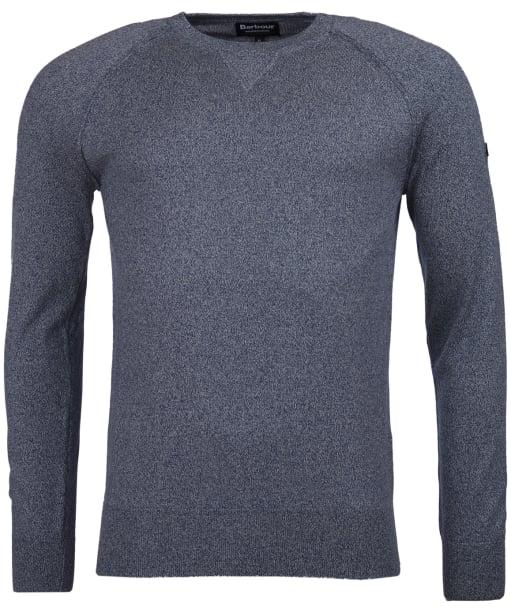 Men's Barbour International Sprocket Crew Neck Sweater - Grey