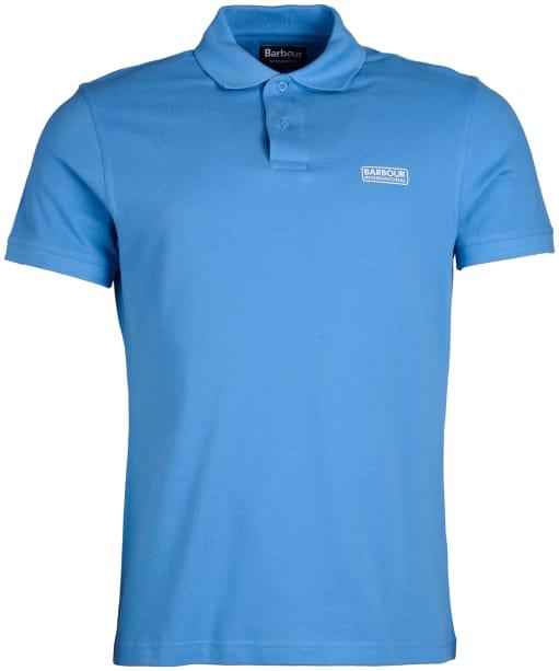 Men's Barbour International Essential Polo - Vivid Blue