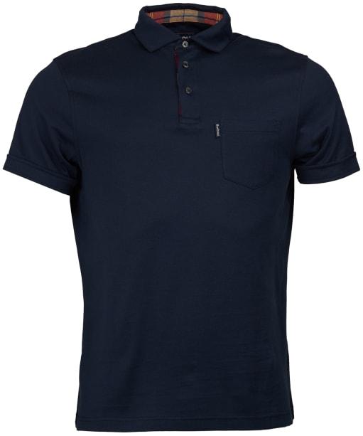 Men's Barbour Brandreth Polo Shirt - New Navy