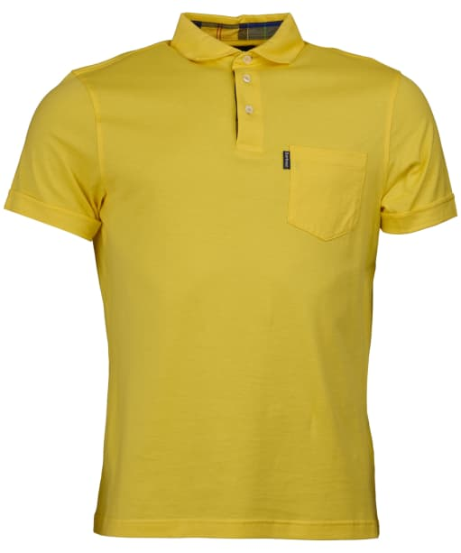Men's Barbour Brandreth Polo Shirt - Empire Yellow