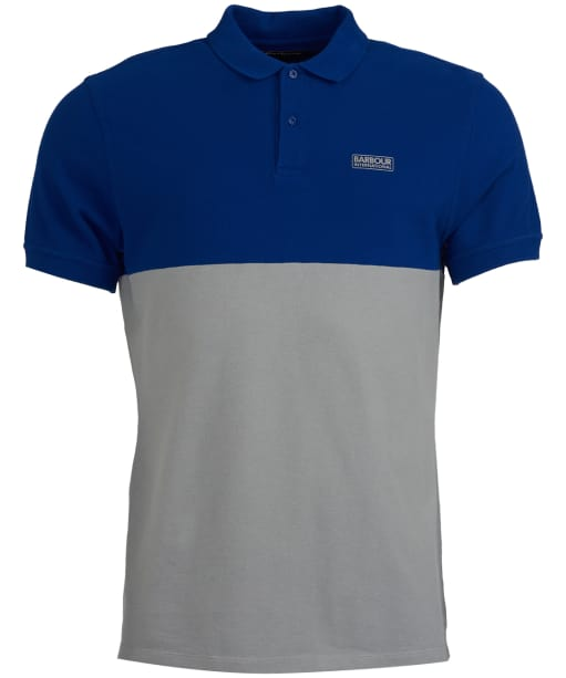 Men's Barbour International Cotter Polo - Aragon Blue
