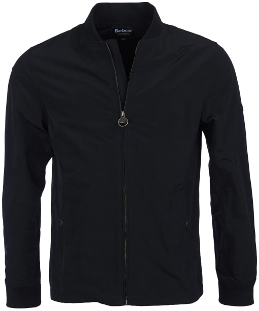Men's Barbour International Bolt Sweater Jacket - Black