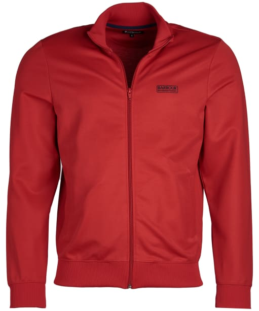 Men's Barbour International Essential Track Top - Vibrant Red