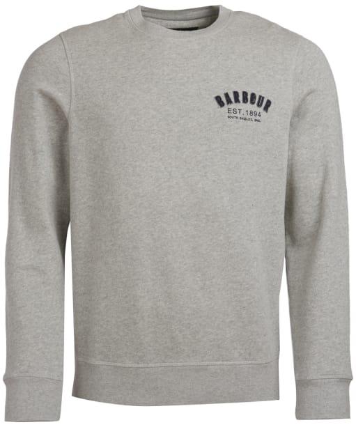 Men's Barbour Preppy Crew Sweatshirt - Grey Marl