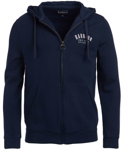 Men's Barbour Preppy Hoody - Navy