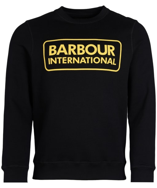 Men's Barbour International Large Logo Sweatshirt - Black