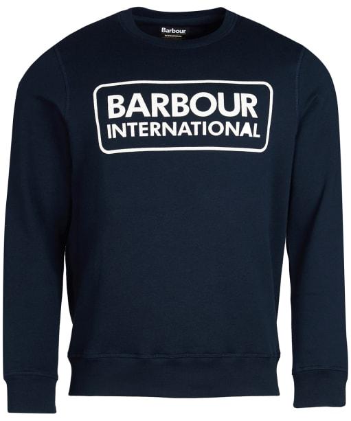 Men's Barbour International Large Logo Sweatshirt - Navy