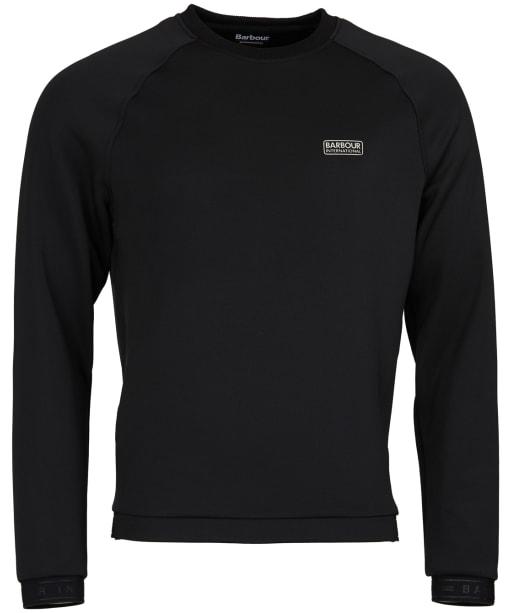 Men's Barbour International Tech Sweatshirt - Black