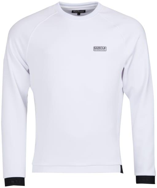 Men's Barbour International Tech Sweatshirt - White