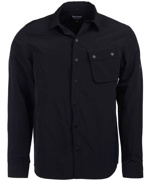 Men's Barbour International Control Overshirt - Black