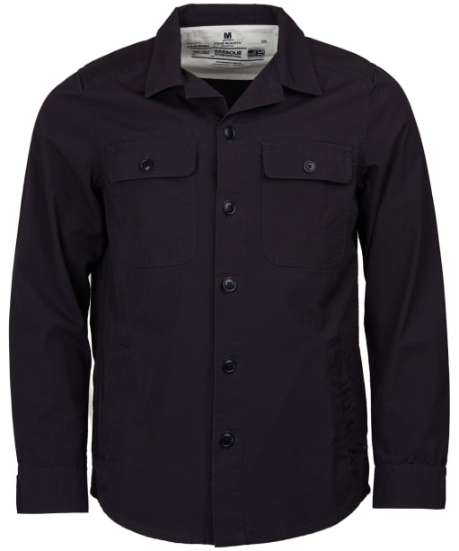 Men's Barbour Steve McQueen Doc Overshirt - City Navy