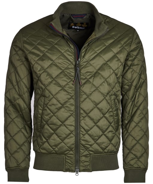 Men's Barbour Blotter Quilted Jacket - Olive