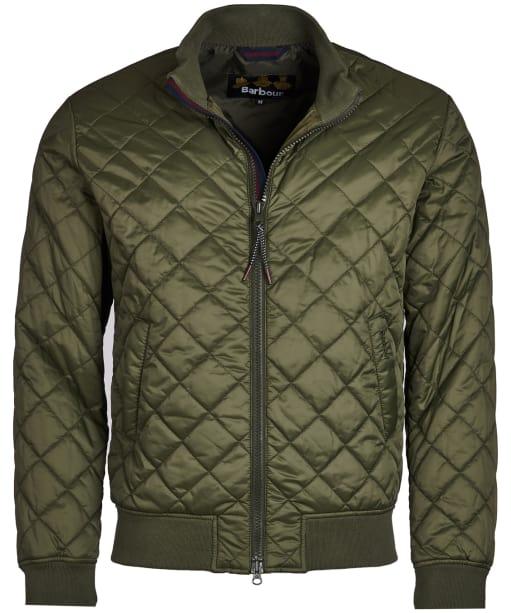 Men's Barbour Blotter Quilted Jacket - Olive