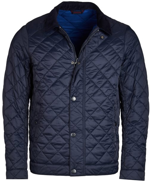 Men's Barbour Cadboll Quilted Jacket - Navy