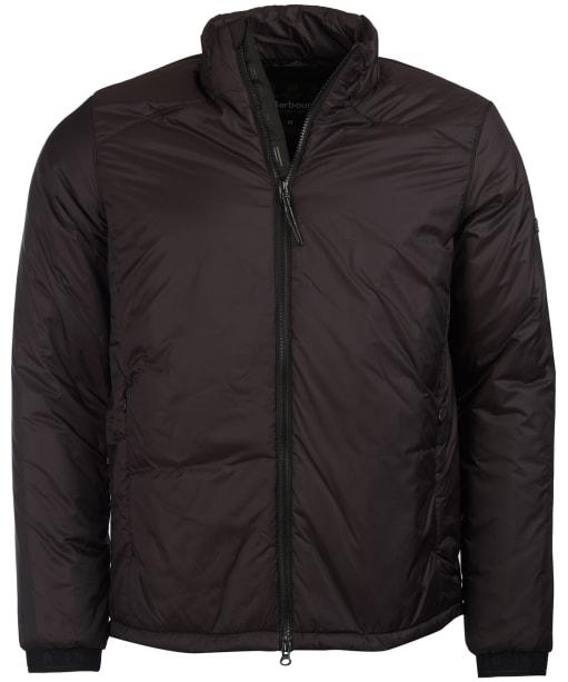 Men's Barbour International Pathside Wadded Jacket - Black