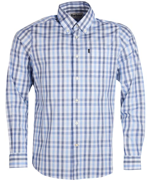 Men's Barbour Tattersall 2 Tailored Shirt - Navy